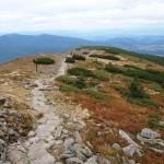 Górna część grani Babiej Góry 1725 m