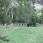 Pozostałości po wsi Biała Woda