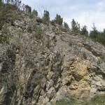 Formacje skalne w Rezerwacie Biała Woda