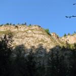 Skały nad Wąwozem Homole