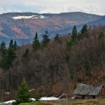 Bacówka napolanie Skalne podJasieniem 1062 m