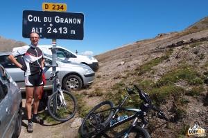Na przełęczy Col du Granon 2413 m