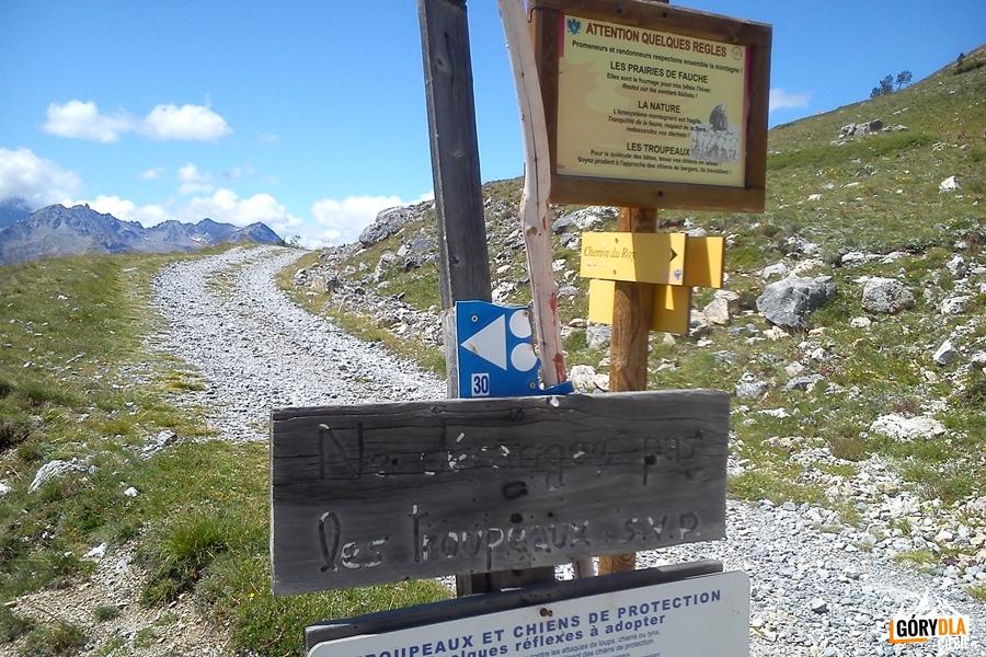 Początek trasy dla rowerów górskich