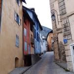 Malownicze uliczki centrum Briançon