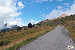 Droga na przełęcz Col du Granon 2413 m