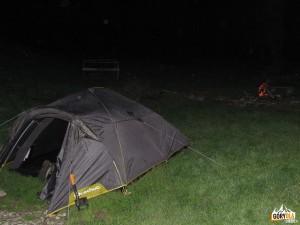 Baza namiotowa pod Wysoką