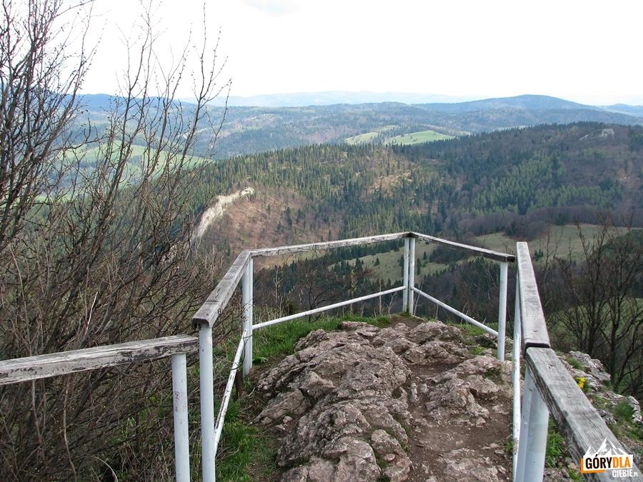 Na szczycie Wysokiej 1050 m
