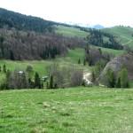 Górna część Rezerwatu Biała Woda - Kociubylska Skała