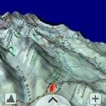 SeeMap 3D - obraz z Gęsiej Szyi w kierunku Kasprowego Wierchu