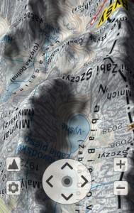 SeeMap 3D - otoczenie Żabiej Doliny BiałczańskiejBiałej Wody