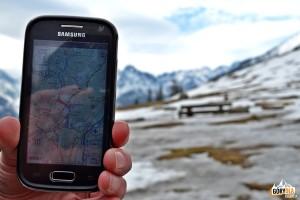Testujemy aplikację SeeMap na Rusinowej Polanie