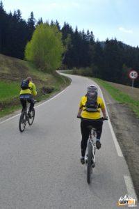 Podjazd naPrzełęcz Słopnicką