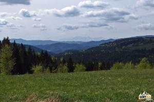 Widoki z drogi na Wyrębiska - Tatry Wysokie