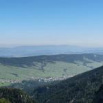 Widok na Zdziar z Szerokiej Doliny