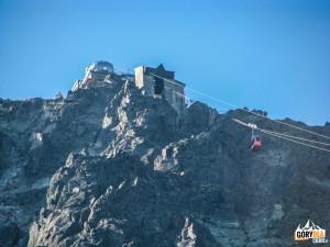 Kolejka linowa na Łomnicę (słow. Lomnický štít) 2634 m
