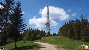 Wieża przekaźnika na Przehybie