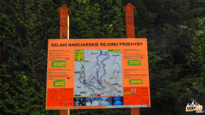 Tablica informacyjna w Dolinie Jaworzynki