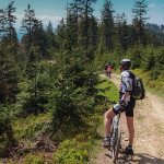 Przehyba zGabońia rowerem
