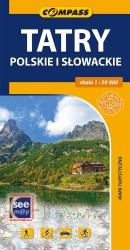 Tatry Polskie i Słowackie - mapa 2015