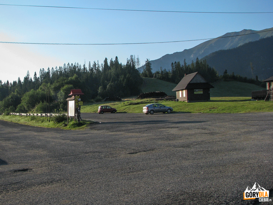 Strednica - parking