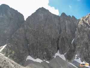 Mały Jaworowy Szczyt (słow. Malý Javorový štít, 2380 m n.p.m.)