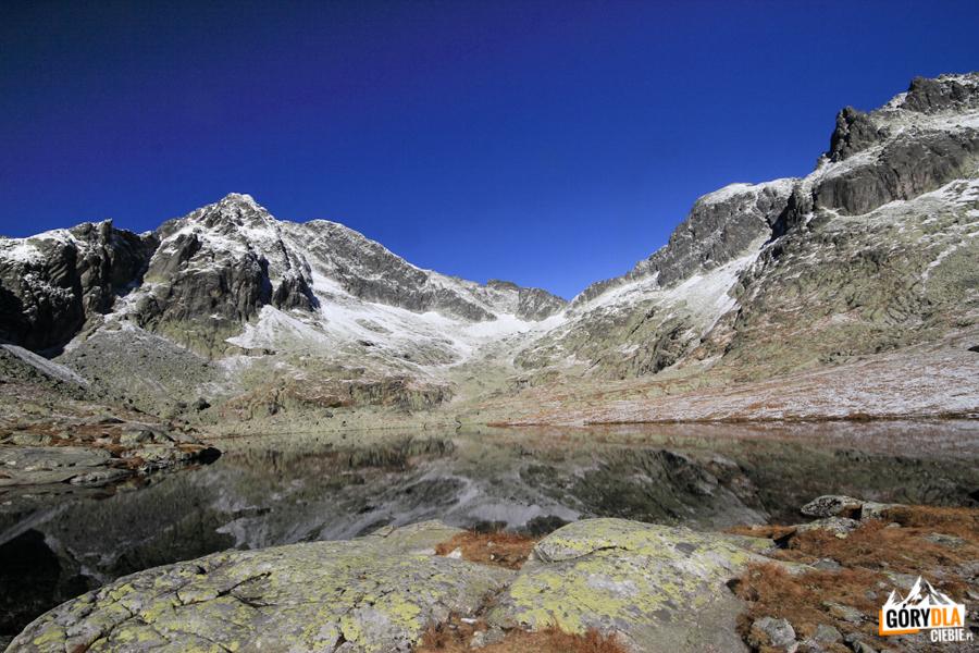Otoczenie Doliny Pięciu Stawów Spiskich - widok wkierunku Baraniej Przełęczy
