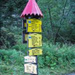 Skrzyżowanie szlaków przy Bufecie Rohackim