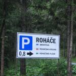 Rohacze - jeszcze niecały km do parkingu