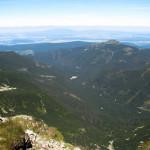 Widok spod Hrubej Kopy na Dolinę Rohacką