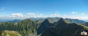 Panorama Rohaczy z Trzech Kop