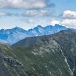Tatry Wysokie widziane z Hrubej Kopy