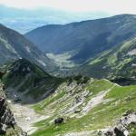 Zejście spod Rohacza Płaczliwego do Żarskiej Doliny