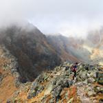 Zejście na Rohacką Przełęcz