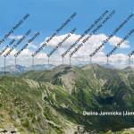 Panorama z Rohacza Płaczliwego (słow. Plačlivý Roháč, 2125 m) w kierunku Tatr Wysokich