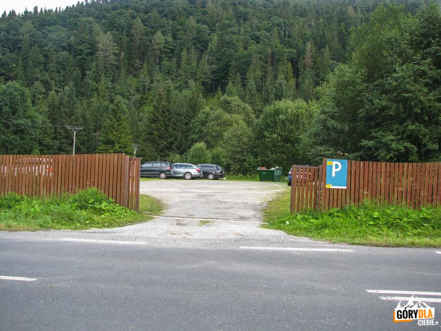 Tatranska Javorina - parking