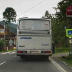 Tatranska Javorina - autobus Stramy do Zakopanego