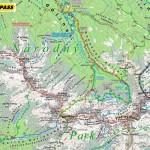 Grań Rohaczy - mapa