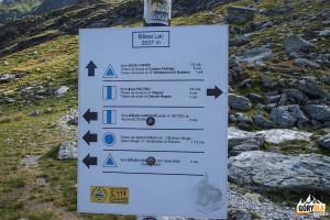 Szlaki górskie przy Bâlea Lac (2037 m)