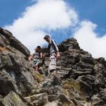 Pod szczytem Vânătoarea lui Buteanu (2507 m)