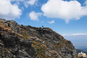 Na szczycie Vânătoarea lui Buteanu (2507 m)