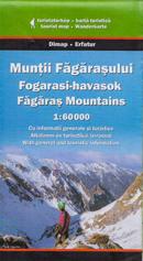 Góry Fogaraskie. Mapa turystyczna Szarvas Dimap