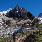 Alpy Francuskie Lodowce La Meije koleją linową