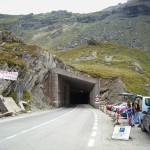 Tunel w najwyższym punkcie Drogi Transfogarskiej