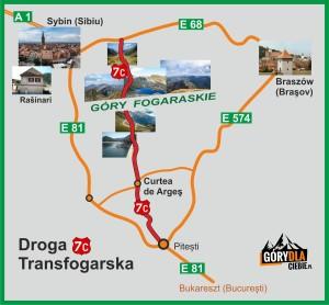 Droga Transfogarska - plan
