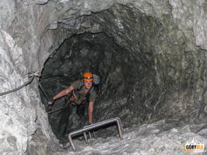 Wspinaczka ferratą wCellonstollen
