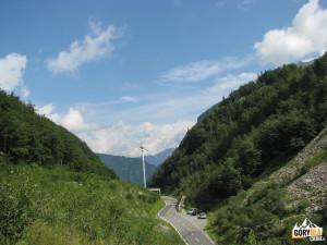 Parking pod Przełęczą Plöcken Pass 1357 m