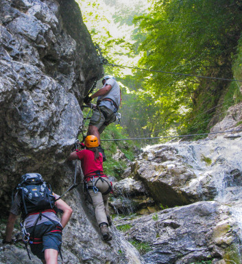 Ferrata Rotschitza-Klamm