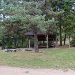 Wiata i miejsce biwakowe na Suchej Polanie