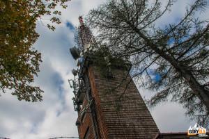 Wieża przekaźnikowa na Luboniu Wielkim