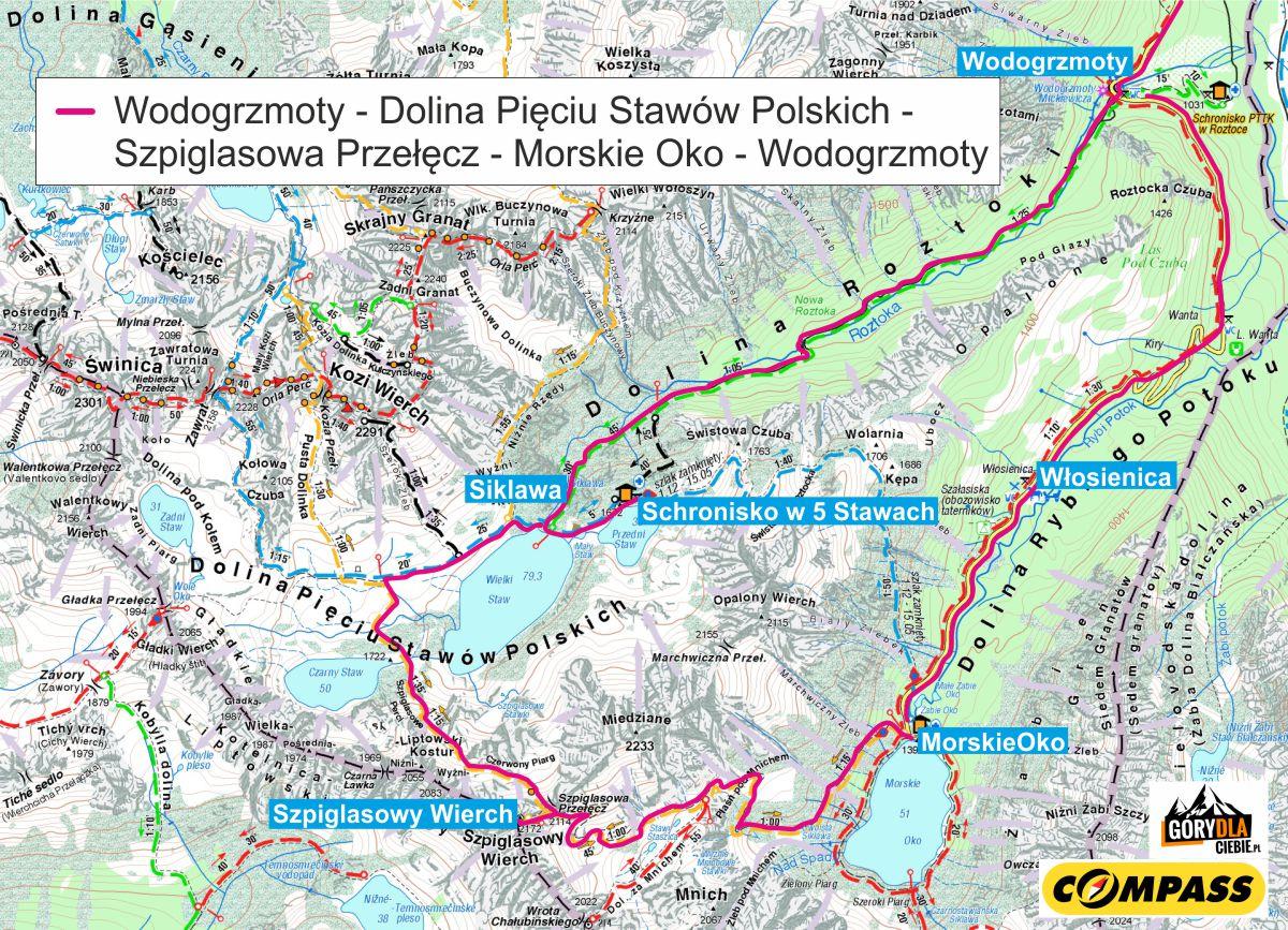 Szpiglasowa mapa 2